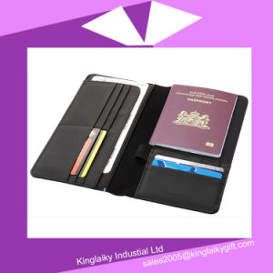 Customized Promotional Business Gift Passport Holder Card Holder (KPP-001) pictures & photos