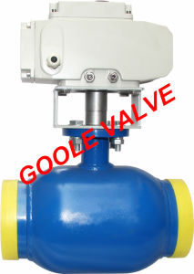 150lb/300lb/600lb/900lb Motorized Fully Welded Ball Valve (GARQ961PPL) pictures & photos