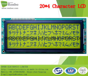 20X4 COB Character LCM Monitor, MCU 8bit, Stn LCD Screen, FSTN LCM Module pictures & photos