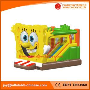 Sponge Theme Inflatable Jumping Bouncer for Amusement Park (T1-443) pictures & photos