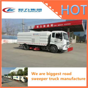 Truck Mounted Road Sweeper Factory Direct Sale pictures & photos