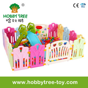 2017 Hot Selling Good High Quality Baby Playpen with Game Fence (HBS17070A) pictures & photos