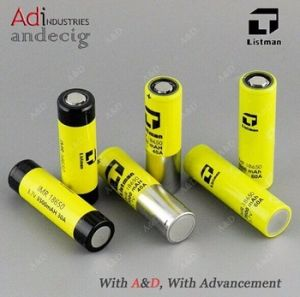 18650 40AMP Battery 18650 3000mAh 3.7V 40A Battery, 18650 40A, 18650 Listman pictures & photos