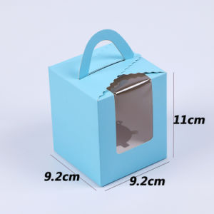 Hot Sale FDA Test Take Away Printing Logo Cardboard Lunch Cake Box pictures & photos