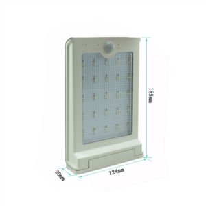 5.5V 1.5W Solar Panel Outdoor Security Motion Sensors 25LED LED Light SL1-20 pictures & photos