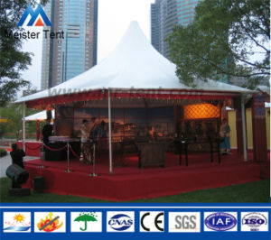 Custom High Peak Hexagonal Pagoda Aluminum Tent for Parties pictures & photos