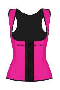Shape Wear Top Women Neoprene Body Shaper Slimming Sauna Vest pictures & photos