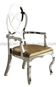 Home Furniture Modern Stainless Steel Leisure Chair (B8810#) pictures & photos