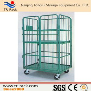 Folding Four Sides Full Security Mesh Roll Cage with Wheels pictures & photos
