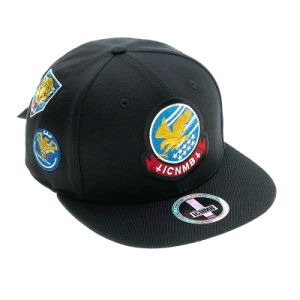 Custom 3D Embroidery Cotton Leisure Sports Hat Snapback Cap pictures & photos