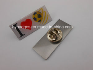 Offset Printing Lapel Pin, Irregular Badge (GZHY-LP-024) pictures & photos
