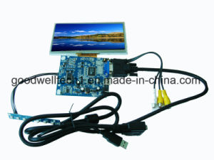 Touch 7 Inch Frameless LCD Module with HDMI VGA Input pictures & photos