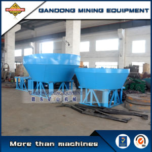 High Quality Roller Wet Pan Mill Rock Ore Grinder for Sale pictures & photos