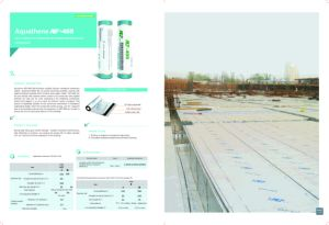 Apf-405 Self-Adhesive Polymer Modified Bitumen Waterproof Membrane pictures & photos