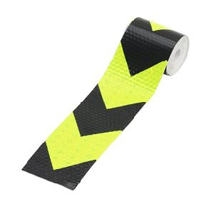 PVC Arrow Safety Reflective Warning Tape Film Waterproof Sticker for Car Truck Motorbike Bicycle pictures & photos