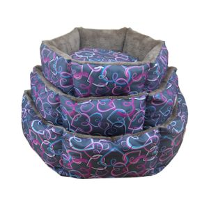 Heart-Shaped Waterproof Dog Bed Durable Waterproof Dog Bed pictures & photos