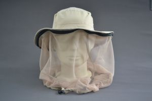 100% Polyester Mesh Anti-Mosquito Cap with Label for Outdoor pictures & photos