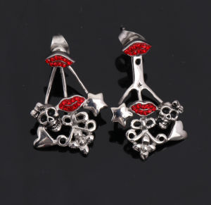 Fashion Stainless Steel Crystal New Dsigns Earring Jewelry pictures & photos