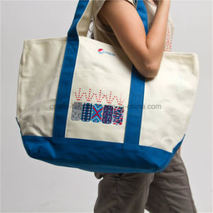 Promotional Printed Cotton Canvas Shopping Tote Bag pictures & photos