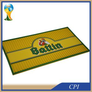 Promotional Custom Logo PVC Bar Mat pictures & photos