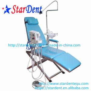 Portable Dental Chair with Treatment Unit and Spittoon pictures & photos
