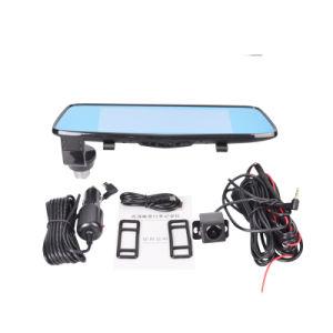 Super Night Vision 7.0inch Car DVR Rearview Mirror Camera Dual Lens Ldws Adas WDR Parking Dashcam 1080P Car Cam pictures & photos