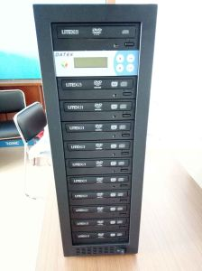 Good Quality CD Burner CD Duplicator with 5PCS 7PCS 10PCS 11PCS Trays pictures & photos