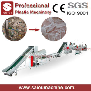 Cheap Pet Bottle Flakes Washing Recycling Machine Line pictures & photos