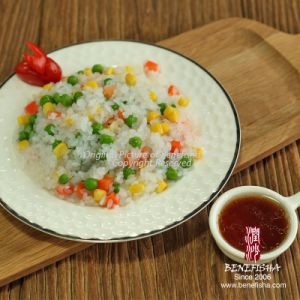 Weight Loss Low Calorie Wet Instant Fresh Konjac Foods Pearls pictures & photos