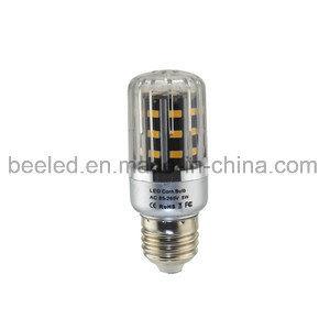 LED Corn Light E26 5W Warm White Silver Color Body LED Bulb Lamp