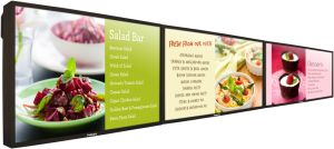 55 Inch Video Wall Digital Menu Board with Build-in 3G WiFi Android OS Apps pictures & photos