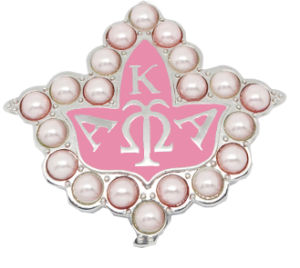 Custom Made Metal Alloy Pearl Aka Pin Sorority Jewelry pictures & photos