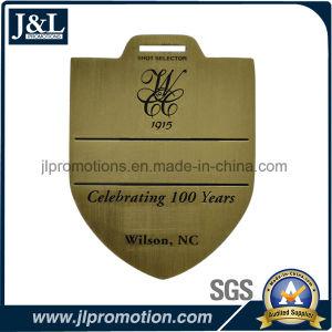 Antique Bronze Customer Logo Golf Bag Tag pictures & photos