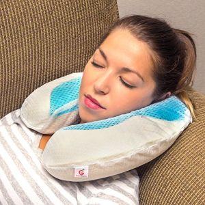 Wholesale U-Shape Gel Cool Pillow pictures & photos