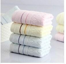 Factory Price Soft Texture 100% Cotton Face Towel Wholesale