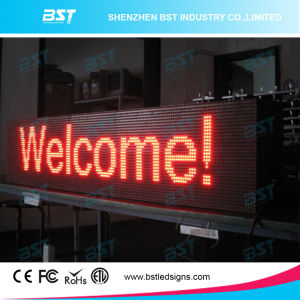 P10 Red Color Waterproof Outdoor Scrolling LED Sign pictures & photos