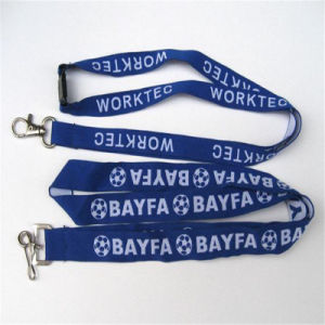 Hot Sale Customized Polyester Woven Lanyard pictures & photos