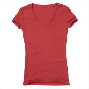 Women′s Fashion Short Sleeve T-Shirts pictures & photos