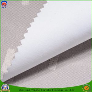 Home Textile Coated PVC Waterproof Flame Retardant Blackout Color Woven Polyester Curtain Fabric pictures & photos