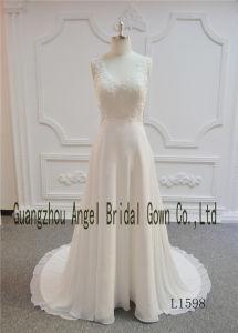 Destination Bridal Wedding Dress with Lace pictures & photos