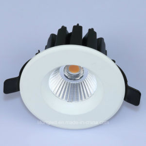 Aluminum COB Recessed LED Ceiling Down Light (Cutout 75mm) pictures & photos