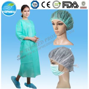 CE/ISO13485 Certificated Disposable Nonowven Isolation Gown pictures & photos