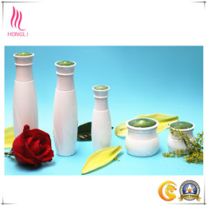 Glass Bottle Aluminum Cover Cosmetic Bottle pictures & photos