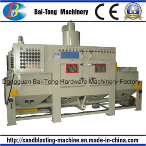 Belt Conveyer Type Automatic Sandblasting Machine pictures & photos
