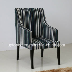Modern Color Stripes Medium Backrest Chair with Armrest (SP-HC444) pictures & photos