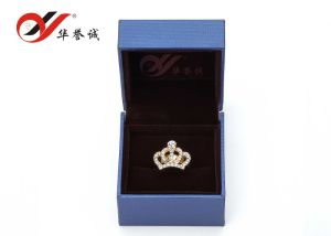 Blue Plastic Jewellery Box for Ring Storage pictures & photos