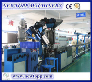 Cable Extrusion Line for Triple-Layer Co-Extrusion Physical Foaming Cable pictures & photos
