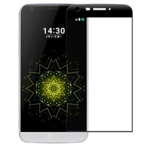 Carbon Fiber 3D Touch Soft Edge Tempered Glass Screen Protector for LG G5
