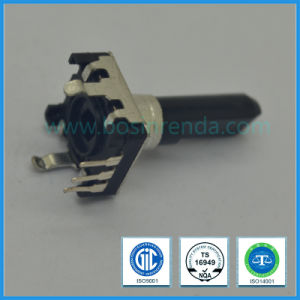12mm Rotary Encoder with Switch Plastic Flat Shaft for Audio Equipment pictures & photos