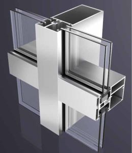 Factory Hot Sale Strong Aluminium Glass Curtain Wall pictures & photos